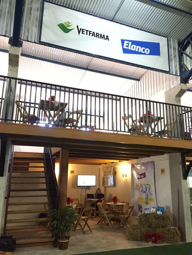 Stand Vetfarma e Elanco na ExpoFrísia 2017